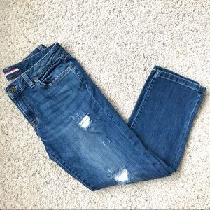 Tommy Hilfiger Boyfriend Copain blue jeans Denim 8